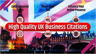 30 High Quality UK Business Listings / Citations / Local Listing