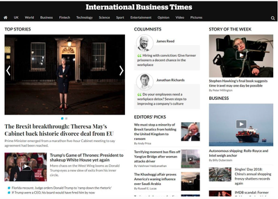 Publish article in IBTIMES IN/SG international business times