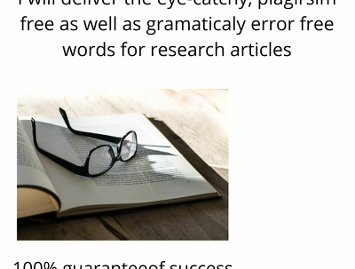 Create 2000 words for research work
