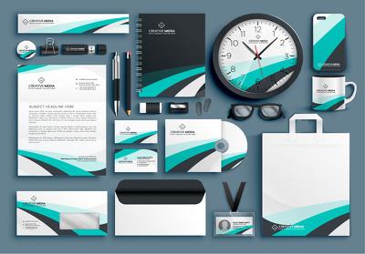 Design business stationery