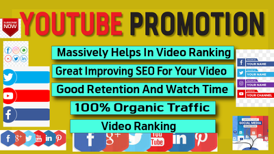 Build You tube promotion and marketing