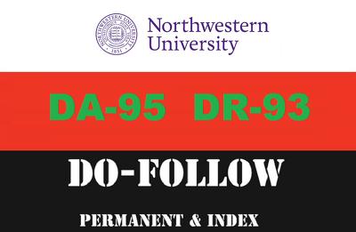 Guest post on north western edu (northwestern.edu) DA93 DR 90