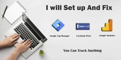 Create Google Tag Manager, Analytics and Facebook Pixrel