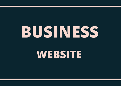 Create a responsive website for your business within 24 hrs