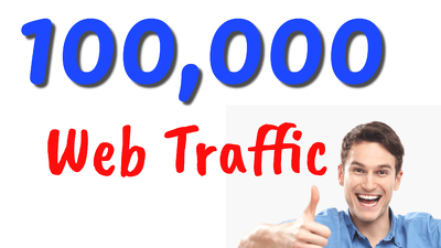 100000 real website traffic from various sources