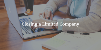 Close down a UK Limited Company