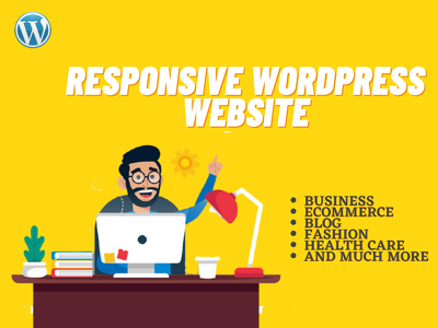 Design and customize a responsive WordPress website