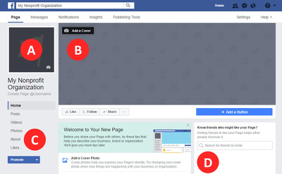 Create a professional Facebook Page for your business