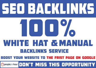 Create 300 SEO Backlinks To Rank Your Website On Google Top
