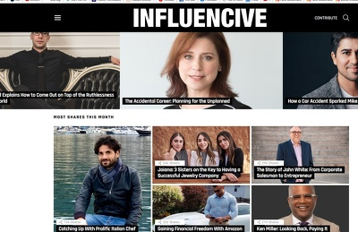 Feature or Interview you on Influencive - Influencive.com