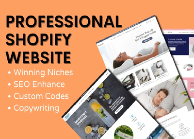 I will create a professional one product or niche shopify store.