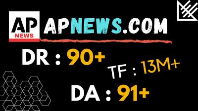 Guest Post on Apnews. com Press Release Post DA 91