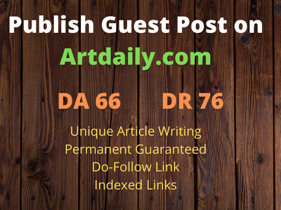 Publish Guest Post on Artdaily.com with Do Follow Link DA 66