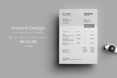 Design your invoice in 5 hours