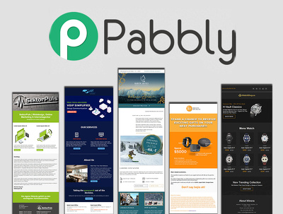 Design and code pabbly email template and newsletter