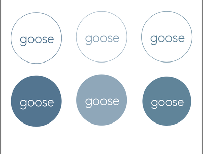 Create a stylish, clean and effective typographical logo
