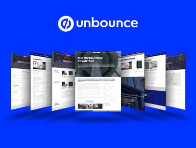 Develop professional high converting unbounce landing page