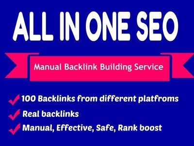 Provide +100 Links PBN Backlinks Package - 100% Do-Follow/SEO