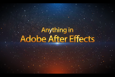 Do anything in adobe after effect fast and high quality