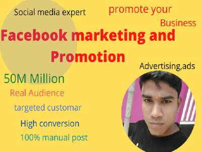 Invite 5000 people to your Event on social media/ads campaign
