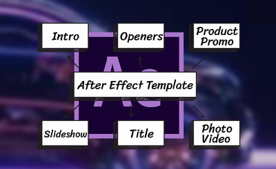 Professionally edit any after effect template