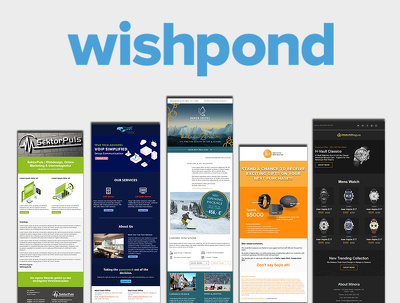 Develop responsive wishpond email template or newsletter