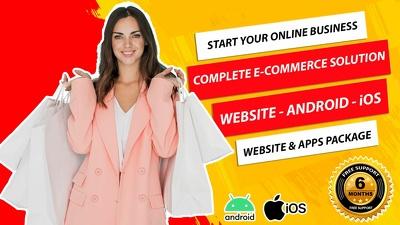 Design, develop integrate eCommerce solution for your website