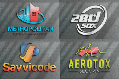 Design professional business logo with copyrights
