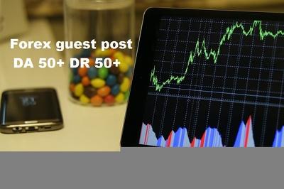 Publish Forex guest post on LondonDailyPost.com DA 50+