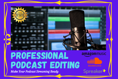 Edit your podcast and make it sound professional