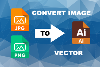 Convert the image to a vector