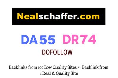 Guest Post on Nealschaffer.com - DR74 - Dofollow