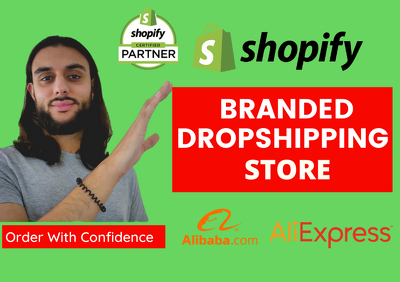 Build shopify dropshipping store shopify website or shopify stor