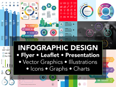 Infographic Flyer Leaflet Brochure & Unlimited Revisions