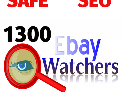 1300 eBay watchers Views to your listing(s)