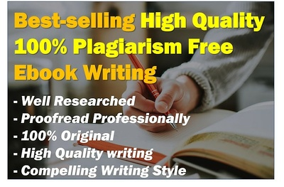 Help you ghostwrite a top-quality 10,000-word eBook that sells