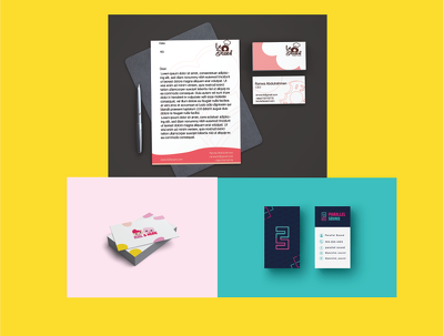 Create a business card to be suitable with your brand.