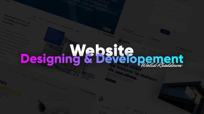 Be your front end web developer and designer