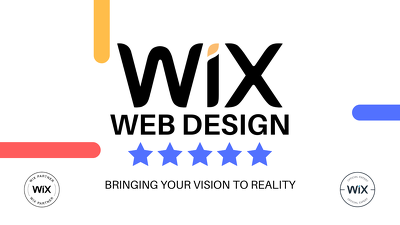 Design your new modern and professional wix website!