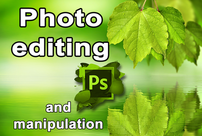 Photo editing, retouching, background removal