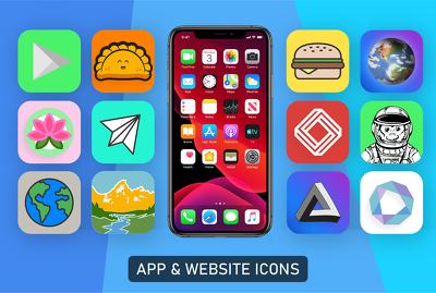 Design a professional app icon