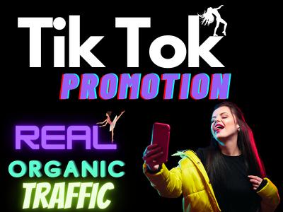 Promote your tiktok videos organic traffic and SEO