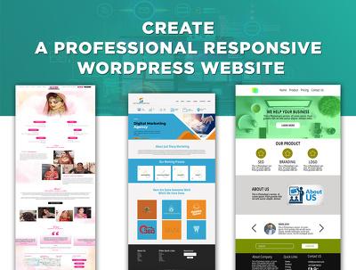 Develop and design a WordPress website