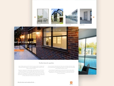 Design & develop modern website