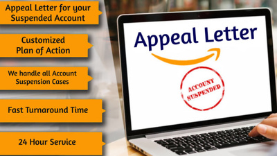 Write amazon suspension appeal letter plan of action