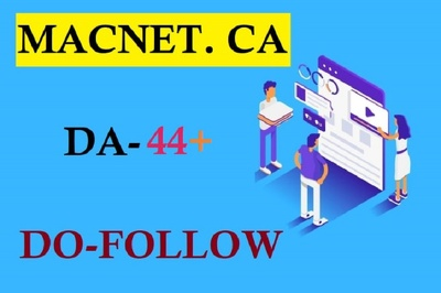 Publish your guest post macnet ca with dofollow link
