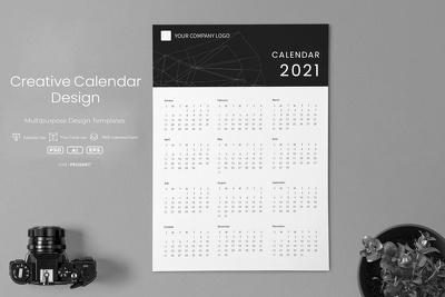 Design your creative calendar in 5 hours