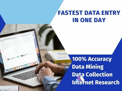 Do fastest data entry in one Hour