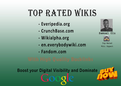 5 Wiki Guest Post Publications with High Quality Backlinks