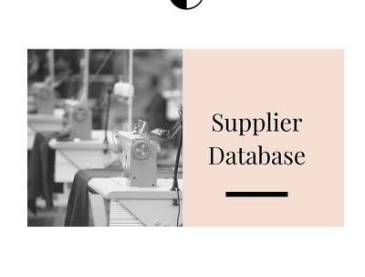 Manufacture Made Simple For Startup Fashion Brands